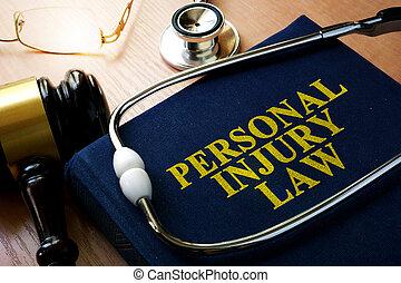 個人的, 傷害, 概念, 法律