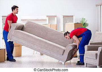 個人的, 従業員, 2, 建築業者, 引っ越し, 所有物