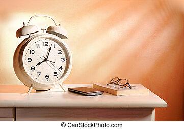 個人的, 所有物, 警報, 枕元, 時計
