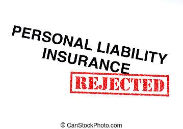 個人的, 責任, 保険
