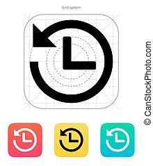 倒計時, icon.