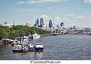 倫敦, 城市