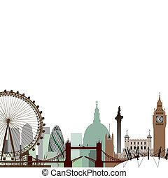 倫敦, 都市風景