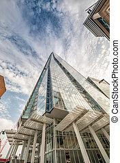 倫敦, -, sep, 29:, the, 碎片, 摩天樓, 設計, 所作, 意大利語, archit