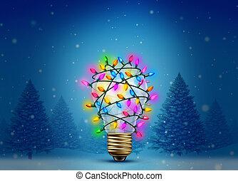 假期, 聖誕節, 靈感