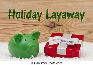 假期, layaway