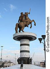 偉人, アレキサンダー, 記念碑