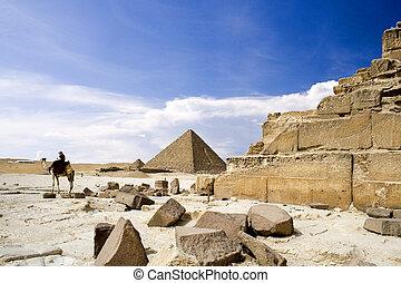 偉人, エジプト人, ピラミッド