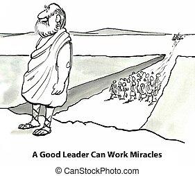 偉大, 領導人