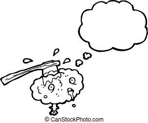 偏頭痛, 漫画