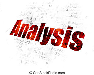 做廣告, concept:, 分析, 上, 數字的背景