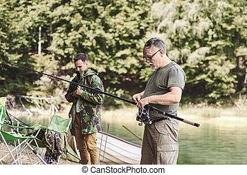 做, 人, 釣魚, 準備