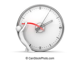 停止, 手, 時間, 停止時計