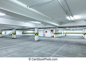 停車的車庫