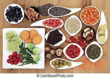 健康に良い食物, 極度