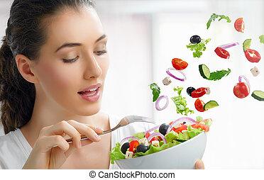 健康に良い食物, 食べること