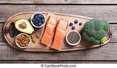 健康に良い食物, 鮭