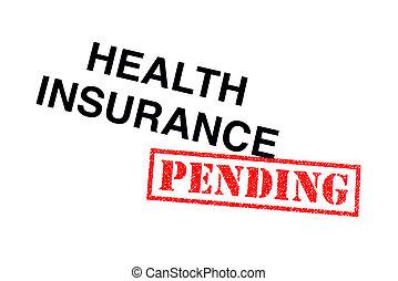 健康保険, 未決