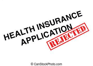 健康保険, 適用