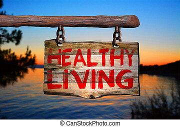 健康活著, 簽署