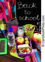 健康的早餐, 為, 學校