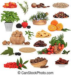 健康的食物, 彙整