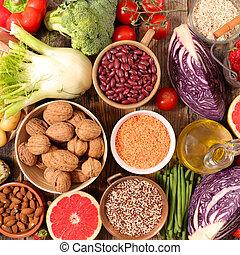 健康的食物, 概念