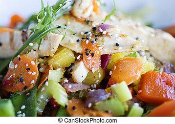 健康的食物, 漢語