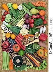 健康的食物, 超級, 彙整