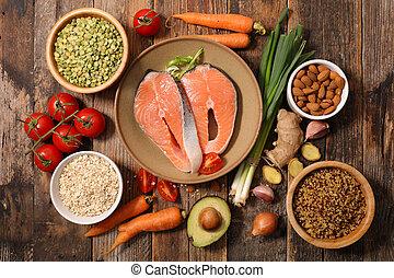 健康的食物, 選擇