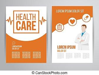 健康護理, 小冊子