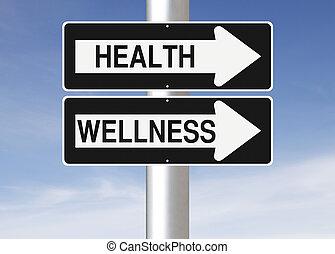 健康 と wellness