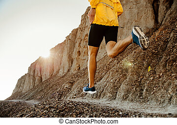 健康, ランナー, 概念, ライフスタイル, 人