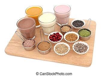 健康, 以及, 身體建築物, 食物
