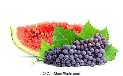 健康, 新たに, fruit., カラフルである