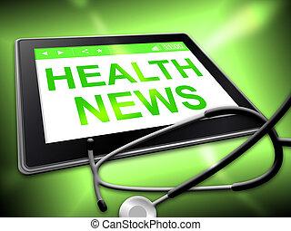 健康, 新聞, 代表, 預防性的藥, 以及, 文章