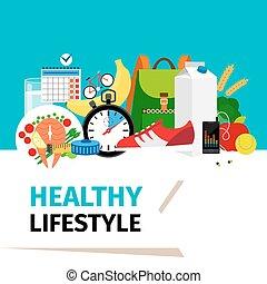 健康, 概念, ライフスタイル