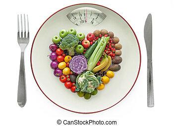 健康, 概念, 食事