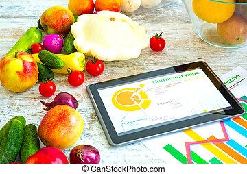 健康, 營養, 以及, 軟件, 指導