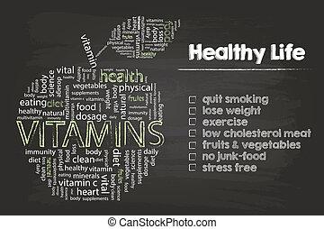 健康, 生活, ステップ