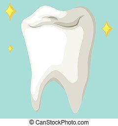 健康, 終わり, 歯