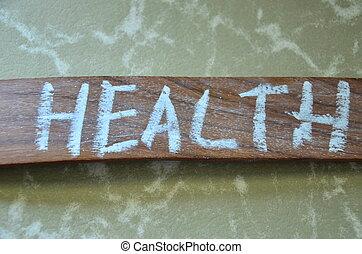 健康, 詞