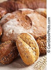 健康, bread