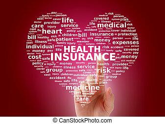 健康, insurance.