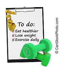 健康, resolutions, ライフスタイル