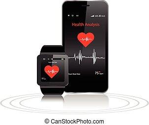 健康, smartphone, apps, smartwatch