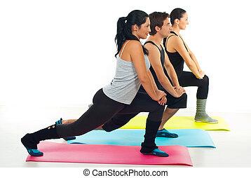 健身, 人們的組