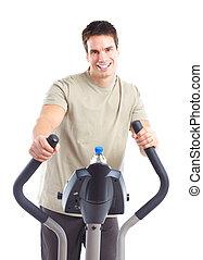 健身, gym.