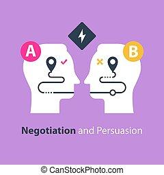 側, 交渉, 地面, 2, 共通, 概念, コミュニケーション, 説得