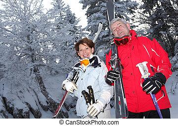 偶力スキー
